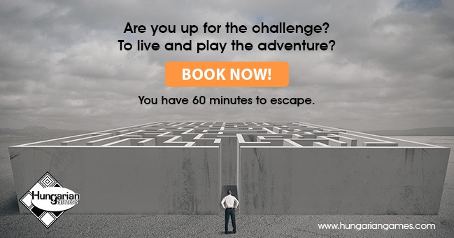 Book an excape room with Hungarian Games