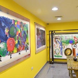 Hungarian Art Studio Big Canvas