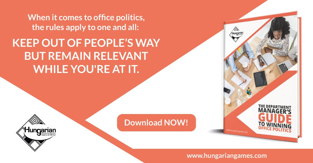 How a department manager can use corporate team games for improved workplace relationships.