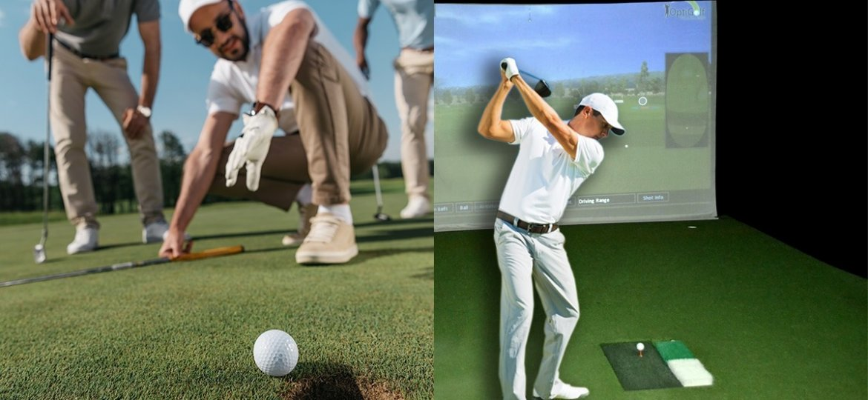 Field Golf and Indoor Golf Simulator Games