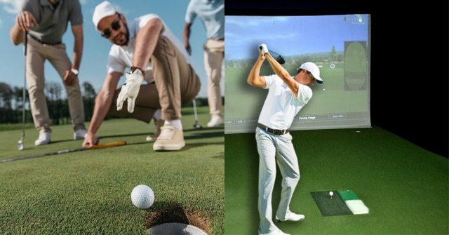 Field Golf and Indoor Golf Simulator Games